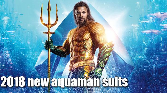 2018 new aquaman suits