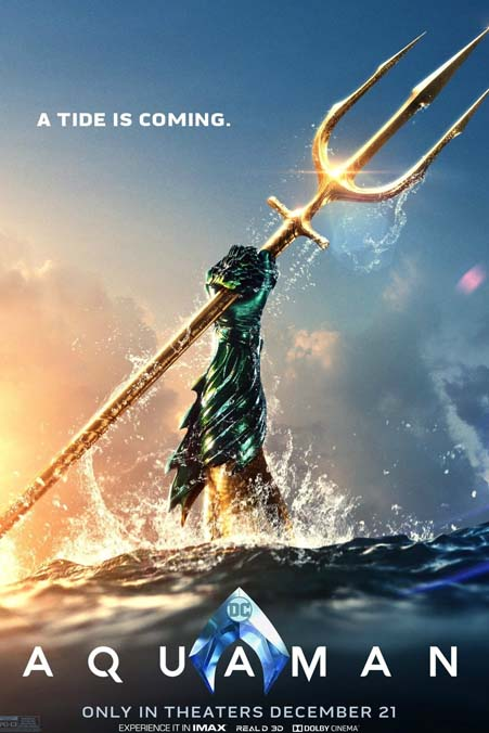 new weapon of aquaman 2018 movie