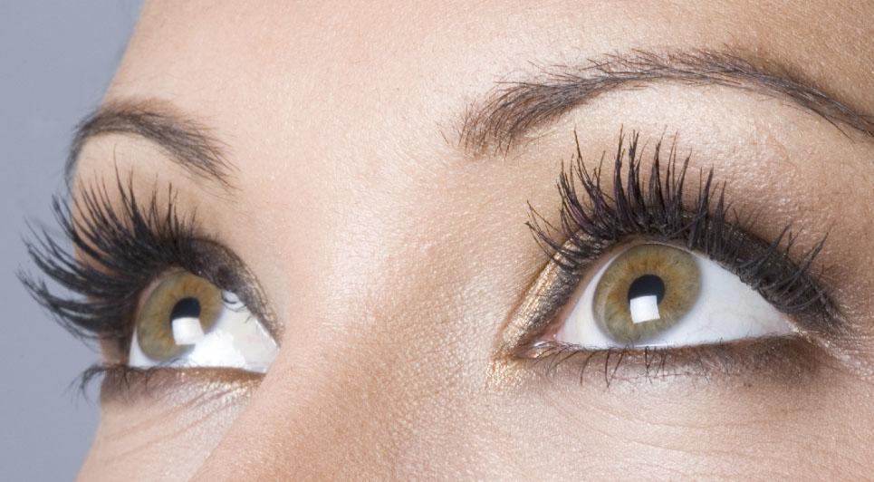 applying 3d lashes