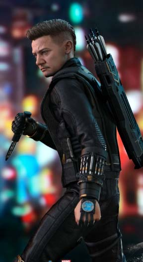 hawkeye ronin hottoys