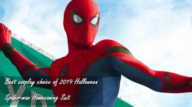 Best cosplay choice of 2019 Halloween - Spider-man Homecoming Suit