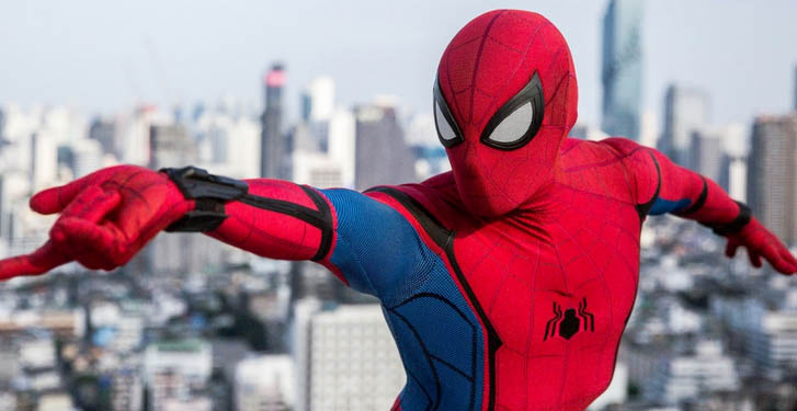 spiderman homecoming suit with webshooter
